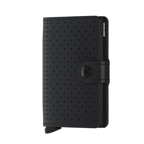 mini perforated black